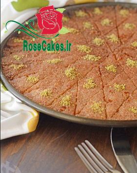 کیک بسبوسه(دسر عربی)