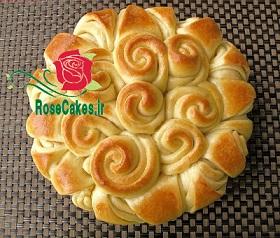 نان گل رز شیری