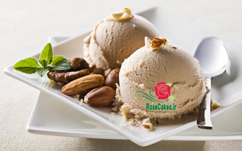 بستنی نسکافه ای