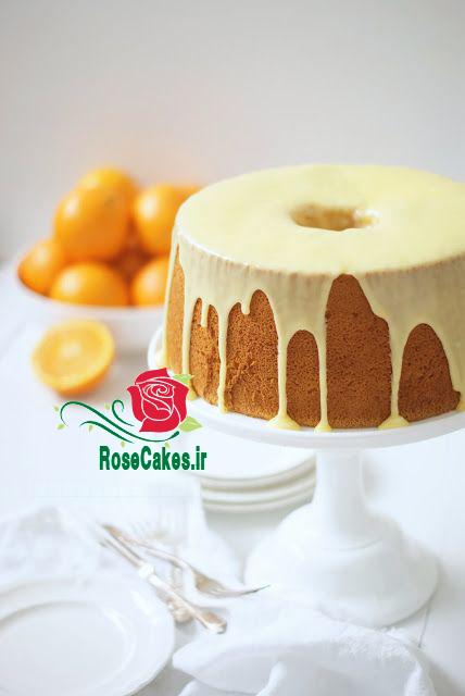 کیک شیفون پرتقالی