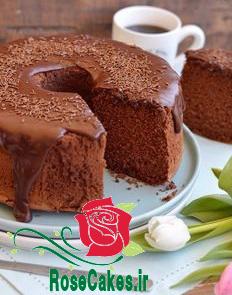 کیک شیفون موکا